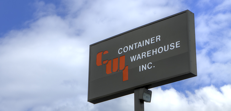 Welcome to Container Warehouse, Inc, Martinsville VA